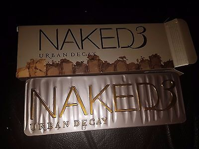 Naked 3 Eye Shadow* Palette Professional Brand new UK Great Quality Urban style