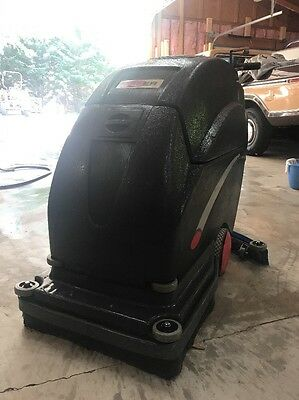 "VIPER Fang 20t Battery Power Automatic Floor Scrubber Drier 20"" 15 Gal"
