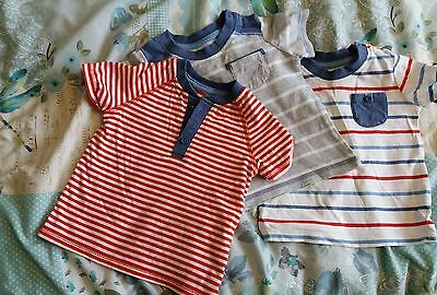 george 3 tops size 6-9 months baby boys