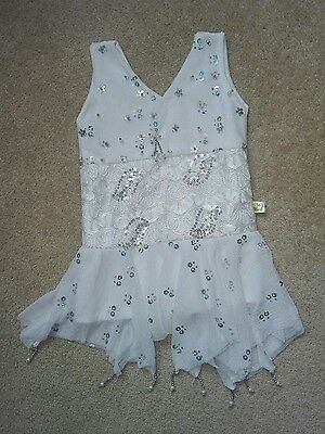 Baby girl summer white party Frock 6-9 months new