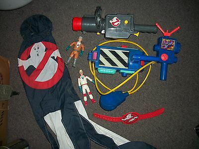 Vintage Ghost Busters Toy Lot,     Rare Wind Sock