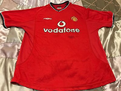 Manchester United Shirt Size L 2000-2002 Season