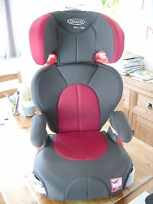 Graco Child Car Seat Red Junior Maxi 15-36kg Group 2-3 High Back Booster Age 4+