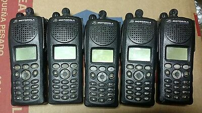 Motorola XTS2500 Portable Radio H46UCH9PW7AN 700/800 Digital Flash 5000080004105