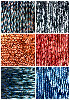 Braid on Braid Polyester Marine Boat Yacht Dingy Rope Rigging Halyard Sheet Line