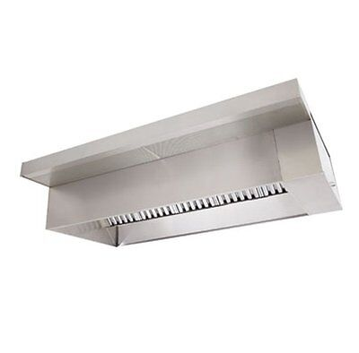 8' Type 1 Commercial Kitchen Hood