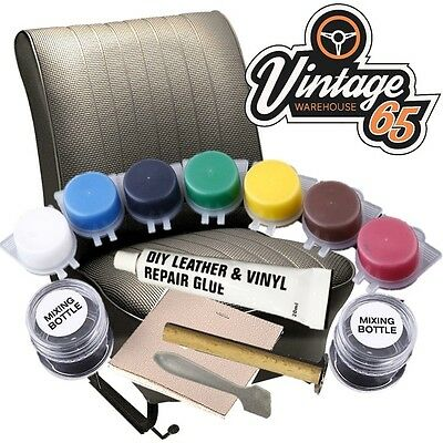 Leather Repair Kit for All Car Van Interior Fix Tears Scratch's Scuffs & Holes