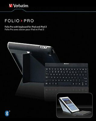 BRAND NEW SEALED Folio Pro with Keyboard for iPad 2,3,4