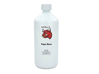 E-Liquid Basis Base 1000ml 1 Liter Bullseye Liquid eliquid Nikotinfrei DIY