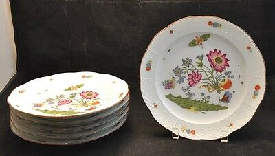 Rare Set 6 MMA Met Museum Haviland Reproduction of Antique Meissen
