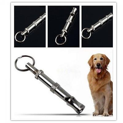 Keychain Pitch Pet Training Whistle Metal Ultrasonic Sound