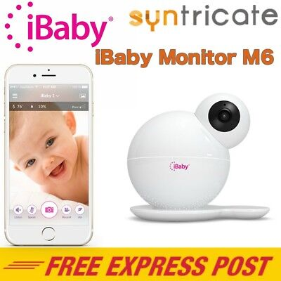 iBABY MONITOR M6 SMART DIGITAL BABY MONITOR FOR iOS AND ANDROID (720p HD )