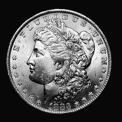 1883 O ~**UNCIRCULATED**~ Silver Morgan Dollar Rare US Old Antique Coin! #W73