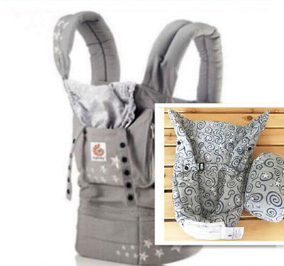 New ERGO Original Baby Carrier Galaxy Grey with Gray Infant Insert   A&1