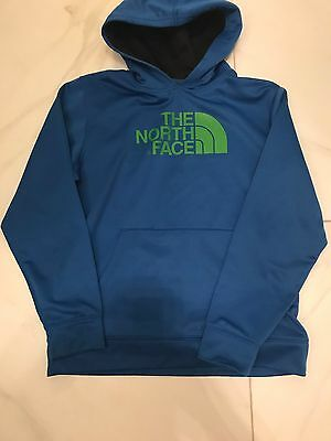 Boys North Face Blue Hoodie Size XL