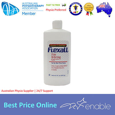 Flexall 454 x 6 Units | 16 OZ | Pain Relieving Gel | Physio | BULK DISCOUNT