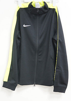Nike Team Authentic N98 Tracksuit top Children's groessexl Black lime NEW #K115