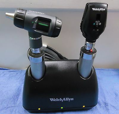 Welch Allyn #71641-M 3.5V Desk Set With Handles And Both Heads--New In Box