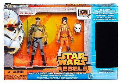 New Star Wars Jedi Reveal The Rebels Pack With Secret Exclusive Figure Boy Toy