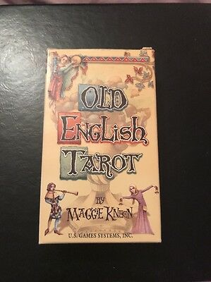 Old English Tarot by Maggie Kneen
