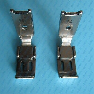 """PRESSER FOOT 1/4"""" (6MM) 2 NEEDLE CLOSED TOE for SINGER 112, 212 PART#223759-1/4"""