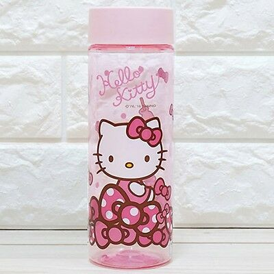 Sanrio Hello Kitty Tritan Bottle Clear Tumbler Cup Coffee Water Bottle 500ml