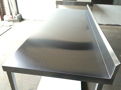 stainless steel bench 2000L x 700w x 900h