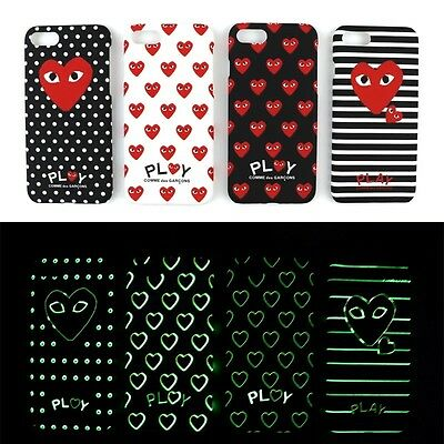 COMME DES GARCONS Luminous iphone 6s Plus iphone 7 7Plus iPhone Hard Case Cover