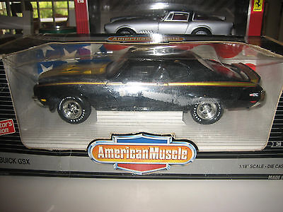 American Muscle 1971 Buick GSX 1:18 scale diecast model