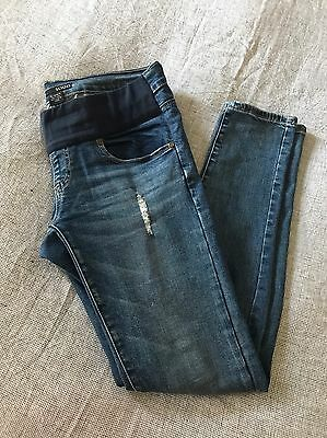 Soon Maternity Jeans Sz 10 as seen on Rebecca Judd