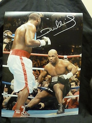 Kevin Mitchell Signed 12x16  Boxing Montage Photograph