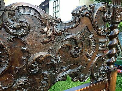 Incredible Italian antique Bed