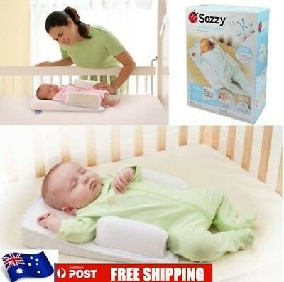 SOZZY Infant Baby Head Cushion Anti-Roll Pillow Sleep Positioner Curved Handrail