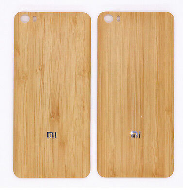 For Xiaomi  Mi 5 Back Battery Cover Replacement Original Wood Bamboo Case
