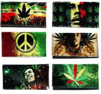 Bob Marley Rasta Tobacco Pouch fit 25g cigarette roling papers