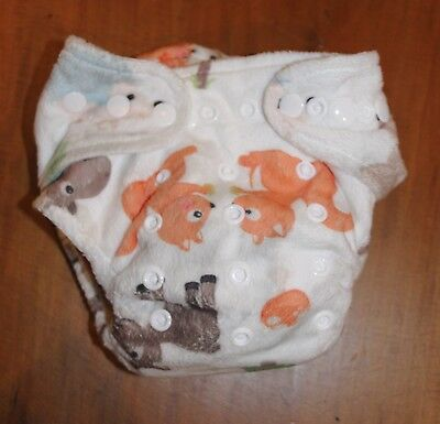 Reusable Modern Cloth Nappy Multi Fit Newborn Toddler Woodland Baby Bare NEW