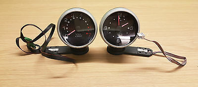 Smart Car 450 Fortwo Time Clock And Rev Counter