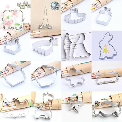 New DIY Stainless Shape Cookie Biscuit Mold Decoration cake Tool 57 Styles