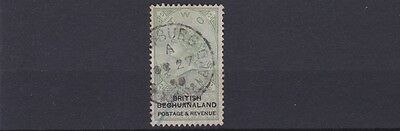 Bechuanaland  1888  S G 16      2/-   Green  & Black   Used   Cat £60