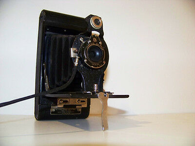 Vintage Kodak n°2 Folding Hawkeye Camera Collection USA 1910