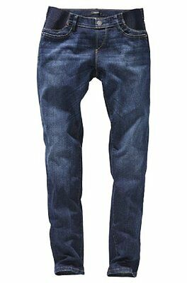 Noppies - Pantalone Premaman slim fit, donna Blu (Blau (used wash 52)), 40 IT (