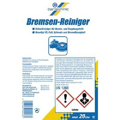 Brake Cleaner By Cartechnic 20L
