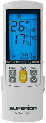 Universal Replacement FUJITSU Air Conditioner Remote Control Over 4000 Codes