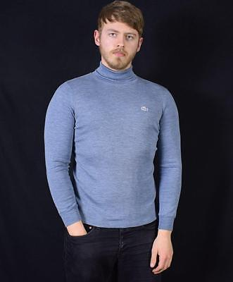 Medium Vintage Lacoste 90's Rollneck Jumper