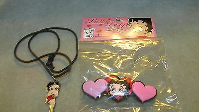 12220 Betty Boop Necklace And Hair Beret