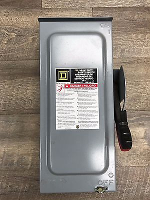 Square D H321NRB Safety Switch Disconnect 30 Amp 240 Volt Fusible
