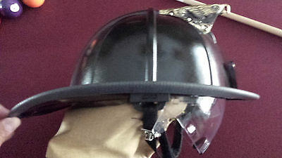 Cairns 1044 Traditional Composite Firefighter Helmet With Defender Visors New