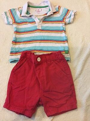 Summer Baby Boys Outfit 12-18 Months