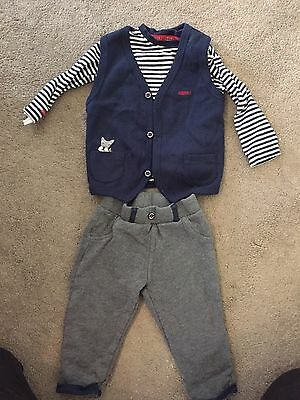 Junior J Baby Boys Outfit 12-18 Months