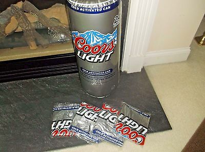 New Lot Of 5 Inflatable Coors Coors Light Been Can 24 Inches Double Sided